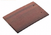 Redland Concrete Antique Red Plain Tile